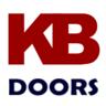 Manhattan White Primed Pair Clear Bevelled Glazed Internal Door