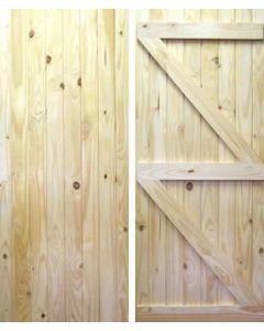 Ledged and Braced (L&B) Softwood External Door