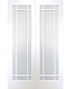 Cheshire White Primed Clear Glazed Internal Pair