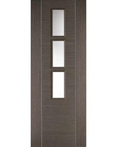 Alcaraz Chocolate Grey Internal Glazed Door