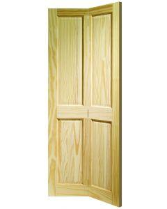 Victorian Clear Pine (BI-FOLD) Internal Door