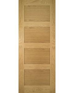 Coventry Oak 4 Panel Internal Fire Door FD30
