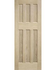 DX 60's Style Oak Internal Door