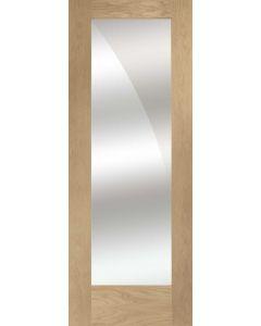 Pattern 10 with Mirror Oak Internal Door