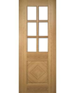 Kensington Oak Bevel Glazed Pre-Finished Internal Door