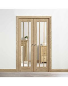 W4 Lincoln Oak Room Dividers