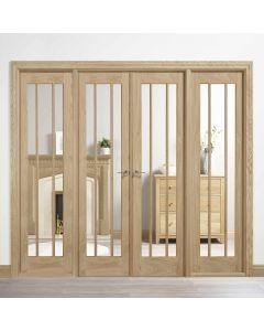 W8 Lincoln Oak Room Dividers