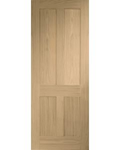 Victorian Shaker Oak Internal Door