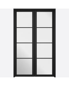Soho Black W4 Room Divider