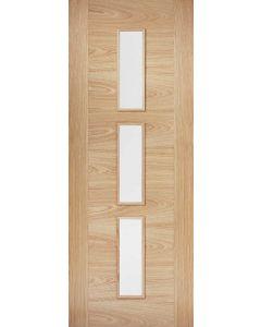 Sofia Oak Pre-Finished Clear Glazed Internal Door