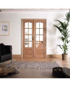 W4 Oak Room Dividers