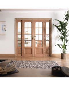 W6 Oak Room Dividers