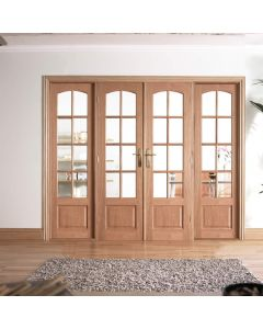 W8 Oak Room Dividers