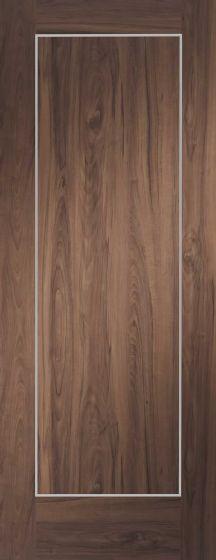 Varese Walnut Pre-Finished Internal Fire Door (FD30)