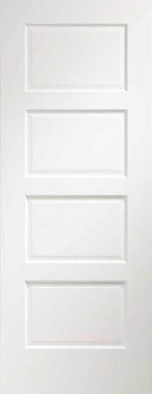 Severo White Pre-Finished Internal Fire Door (FD30)