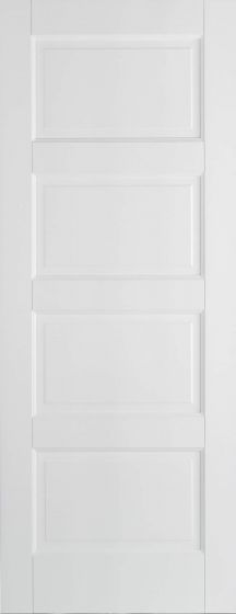 Contemporary White Primed Internal Door