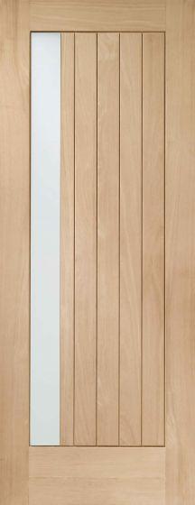 Trieste Glazed Oak External Door