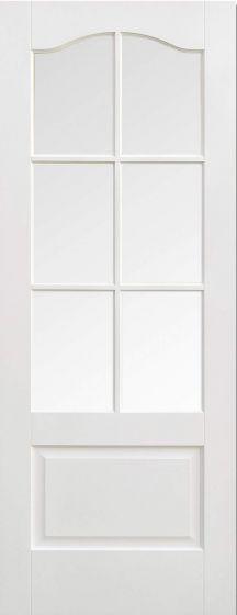 Kent Solid White Pre-Primed Bevel Glazed Internal Doors