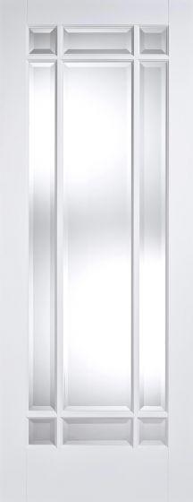Manhattan Glazed Solid White Pre-Primed Internal Doors