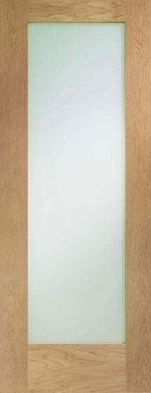 Pattern 10 Double Glazed Oak External Door