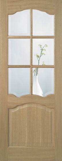 Riviera Oak Prefinished Internal Doors