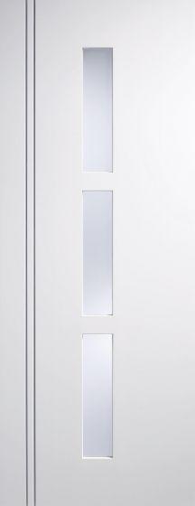 Sierra Blanco White Glazed Pre-Primed Internal Doors