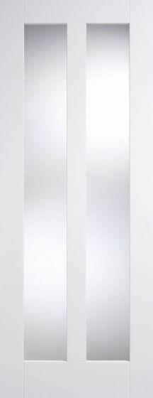 Vermont Glazed White Pre-Primed Internal Doors