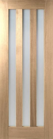 Utah Glazed Oak Internal Doors