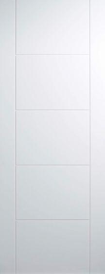 Vancouver White Primed Internal Door
