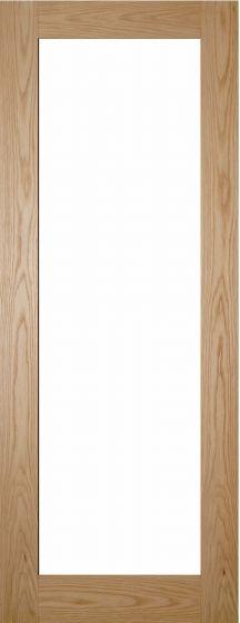 Walden Oak Clear Glazed Internal Doors