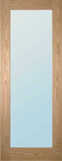 Walden Oak Obscure Glazed Internal Doors