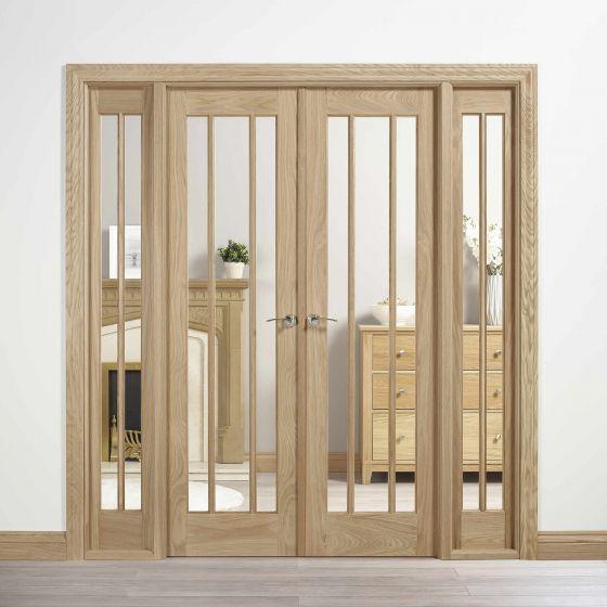 W6 Lincoln Oak Room Dividers
