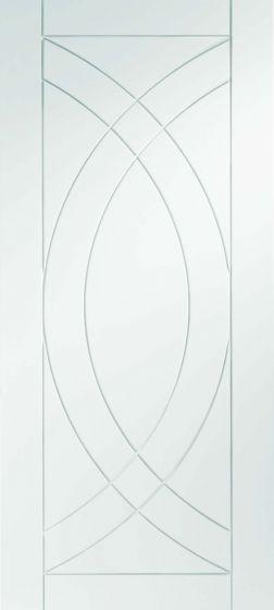 Treviso White Primed Internal Door