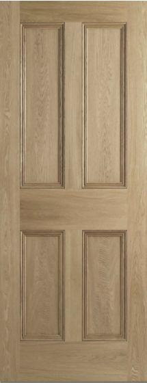 4 Panel Oak Nostalgia Internal Doors