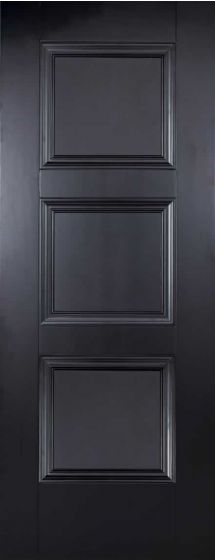 Amsterdam Black Internal Fire Door