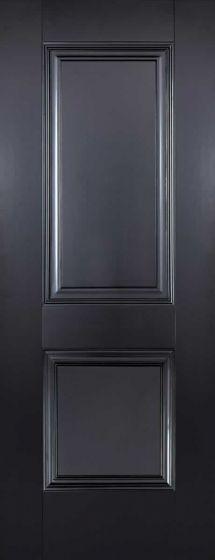 Arnhem Black Internal Fire Door FD30