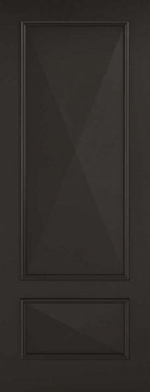 Knightsbridge Black Internal Door
