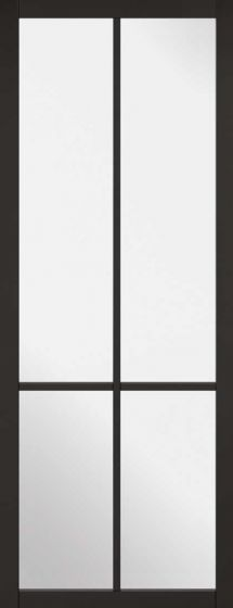 Liberty Black Clear Glazed Internal Door