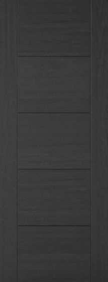 Vancouver Charcoal Black Pre-Finished Internal Fire Door FD30