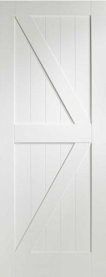 Cottage White Primed Internal Door