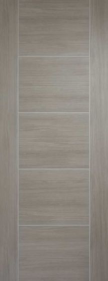 Vancouver Light Grey Laminate Internal Door