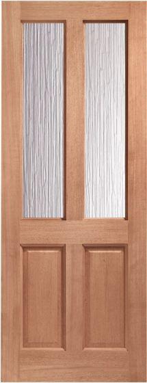 Malton Hardwood Obscure Glazed External Door