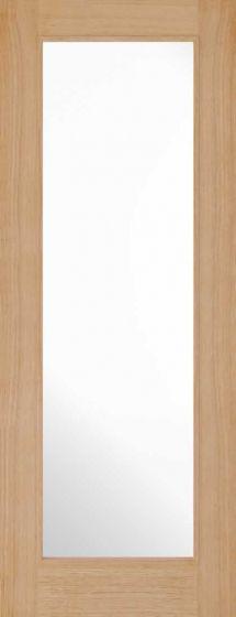Diez Oak Pre-Finished Clear Glazed Internal Door
