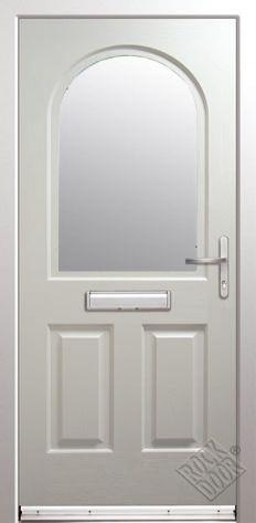 Kentucky Clear/Obscure Glazed ULTIMATE Composite Rockdoor