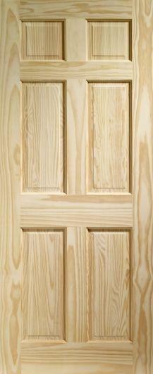 Turnbury / Regency / Colonial Clear Pine Internal Doors