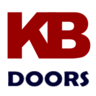 Soho Black Clear Glazed Internal Door