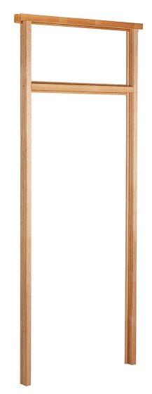 Fanlight Frame Hardwood External