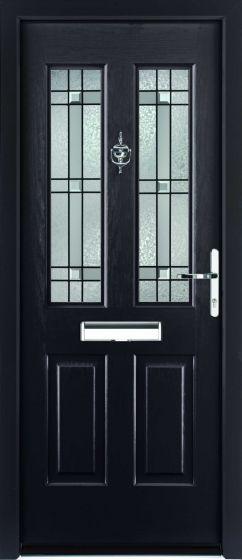 Jacobean Apollo Glazed ULTIMATE Composite Rockdoor