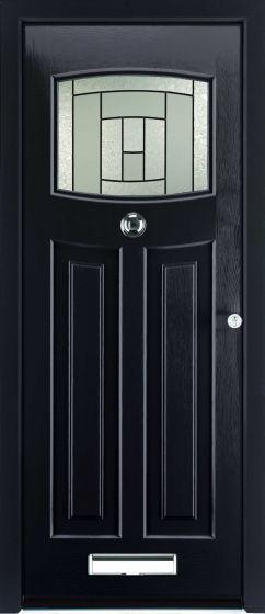 Newark Citadel Glazed ULTIMATE Composite Rockdoor