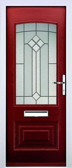 Portland Beacon Glazed ULTIMATE Composite Rockdoor